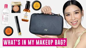 what s in my makeup bag tina yong