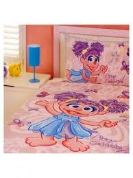 sesame street bedding toddler bed set