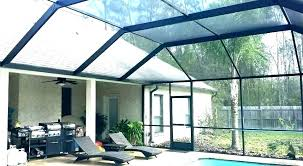 screened patio pictures plans cost in