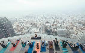 skyser yoga offers breathtaking
