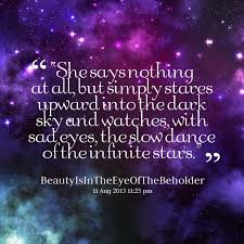 stars in the sky quotes quotesgram