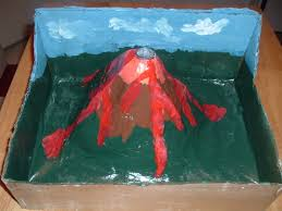 make a volcano project how things work
