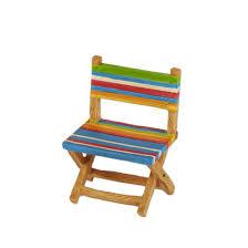 miniature fairy garden beach chair with