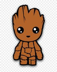 Baby Groot Sticker Baby Groot Sticker Free Transparent Png Clipart Images Download