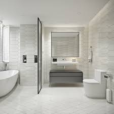 Picket Contemporary Bathroom New York By White Marble Source