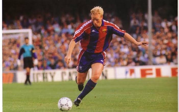 Image result for koeman barcelona""