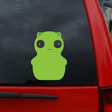 Bob S Burgers Kuchi Kopi Lime 5 Tall Vinyl Decal Window Sticker For Cars Trucks Windows Walls Laptops And More Wish
