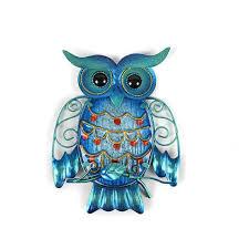 owl wall artwork for garden decoration