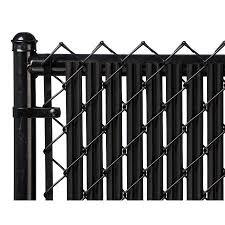 Black 6ft Ridged Slat For Chain Link Fence Walmart Com Black Chain Link Fence Chain Link Fence Fence Slats