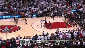 Brooklyn Nets vs Toronto Raptors Game 5 ...