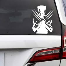X Men Origins Wolverine Wolf Funny Creative Decoration Decals Auto Tuning Styling Vinyls D10 Car Stickers Aliexpress