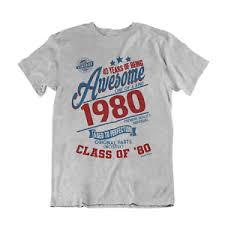 mens 40th birthday gift t shirt 40
