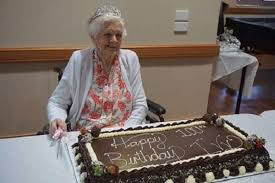 The 'Festival of Ivy': Beloved Servicewoman Celebrates 100 Years | Aged  Care Online
