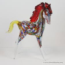 whole murano glass sculptures