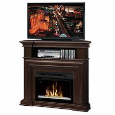 corner electric fireplace packages