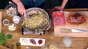 calabrian chile crab spaghetti