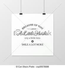 friendship quote typographical poster because of you i laugh a