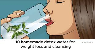 10 homemade detox water recipes for