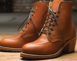 boots mocs short long leather shoes