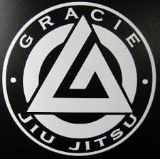 Gracie Jiu Jitsu Mma Die Cut Vinyl Sticker Decal Sticky Addiction