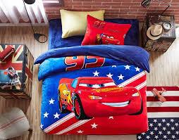 disney cars themed kids bedding