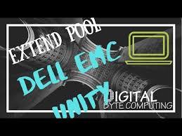 storage pool on a dell emc unity