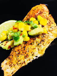 Air Fryer Catfish with Corn Avocado ...