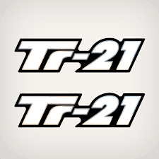 Triton Tr 21 Flat Vinyl Decal Set Replica Sticker Decals Garzonstudio Com