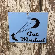 Kiteboarding Vinyl Decal Window Sticker Adventure Roost