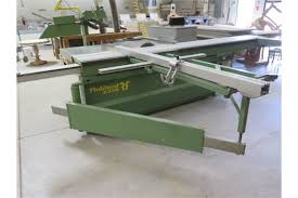 Robland Z320 Sliding Table Table Saw W Tiger Stop Automatic Fence System Straight And Angular