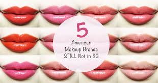 5 american makeup brands you still can