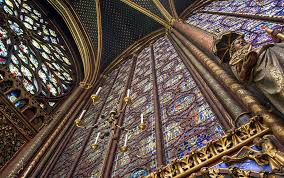 church sainte chapelle stained glass