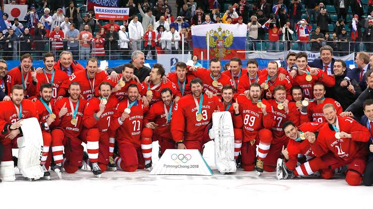 Image result for russian olympic team""