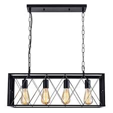 isramp 4 lights pendant lighting