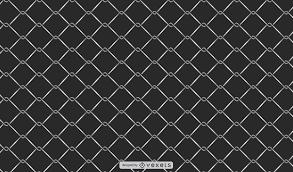 Metal Mesh Fence Background Vector Download