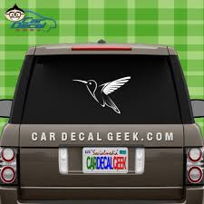 Hummingbird Car Decal Graphic Window Stickers