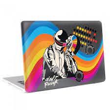 Dj Daft Punk Macbook Skin Decal
