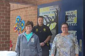 WIFM RADIO - National Principal's Day and National Lunch Hero Day! with Dr. Myra  Cox, Resource Officer D. Golden and Pam Brown Colbert, Principal Elkin  Elementary School | Facebook