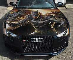 Vinyl Car Hood Wrap Full Color Graphics Decal Batman Dark Knight Sticker 6 Ebay