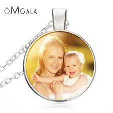 custom necklace photo of baby child