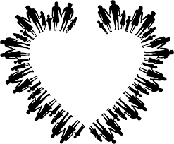 Nuclear Family Silhouette Heart Icons PNG - Free PNG and Icons Downloads