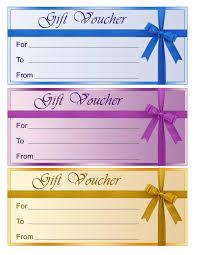 blank gift voucher template exle