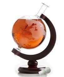 wine savant large etched world 84 oz