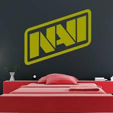 Natus Vincere Navi Esports Team Logo Csgo Dota 2 Wall Art Sticker As10203 Ebay