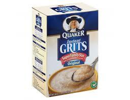 pepsico quaker instant grits 36 ounce