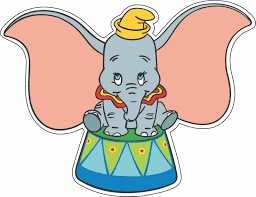 Dumbo On Stand Bumper Sticker Wall Decor Vinyl Decal 5 X 4 Ebay Wall Vinyl Decor Vinyl Bumper Stickers Vinyl Decals