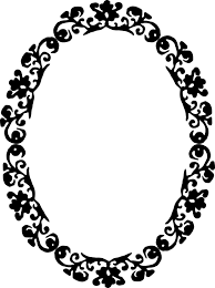 black and white mirror clipart google