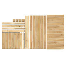 Greenes Fence 48 In L X 24 In W X 31 In H Original Cedar Elevated Garden Bed Rcev2448 The Home Depot