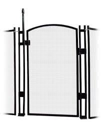 Buy Visiguard Self Closing Latching Pool Fence Child Safety Gate 4 Tall Black Features Price Reviews Online In India Justdial