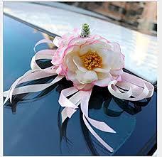 decoration flower door handles rearview